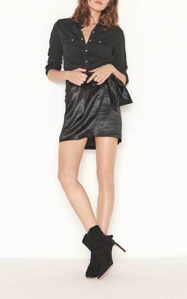 Cobalt skirt