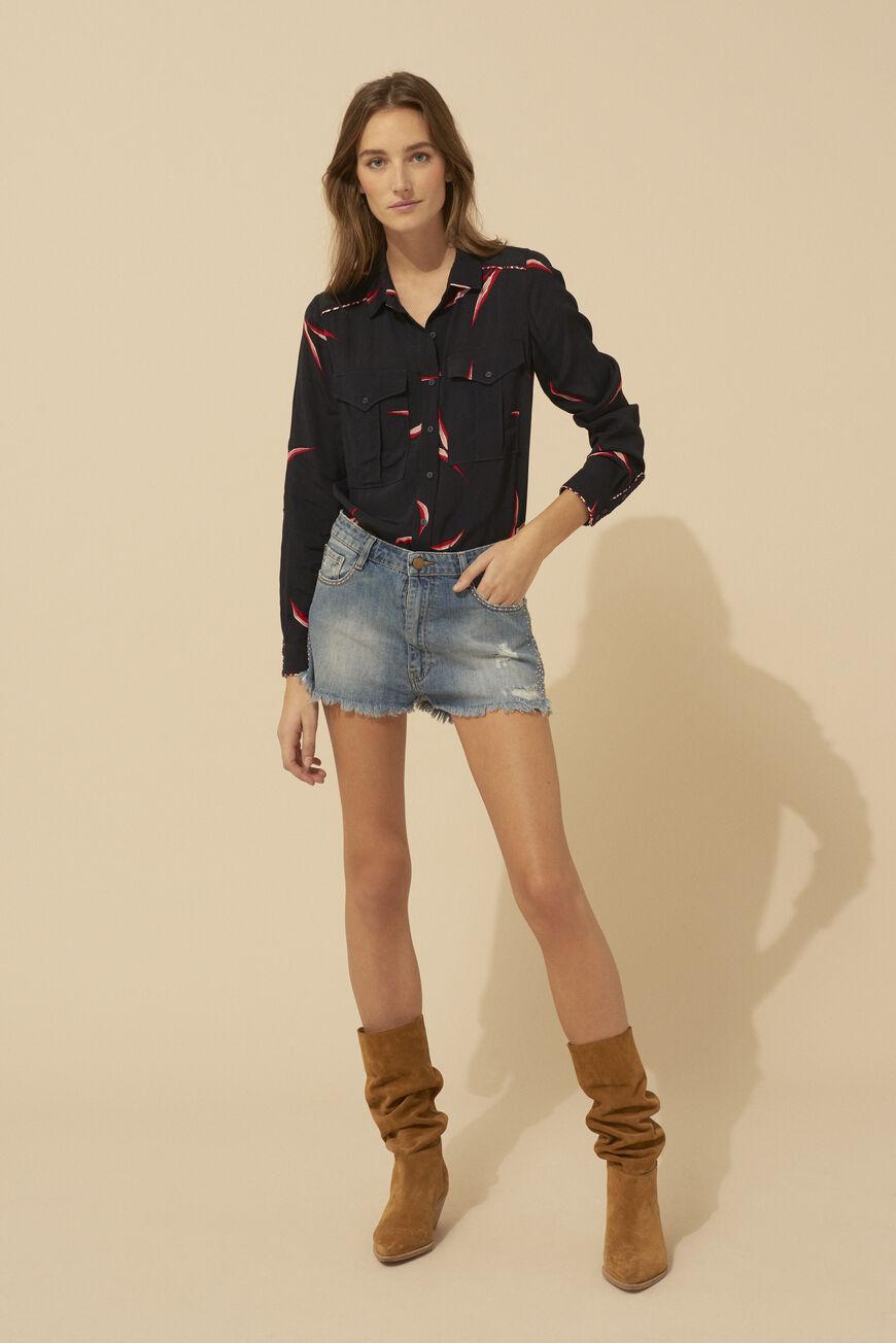 2f6c7888107187 Jupe, short ba&sh • Jupe patineuse, short femme, jupe trapèze