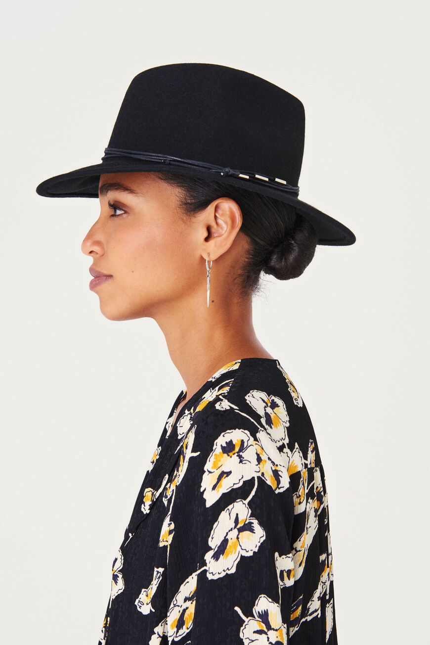 CHAPEAU HARRIS Sale: Extra 15% off NOIR