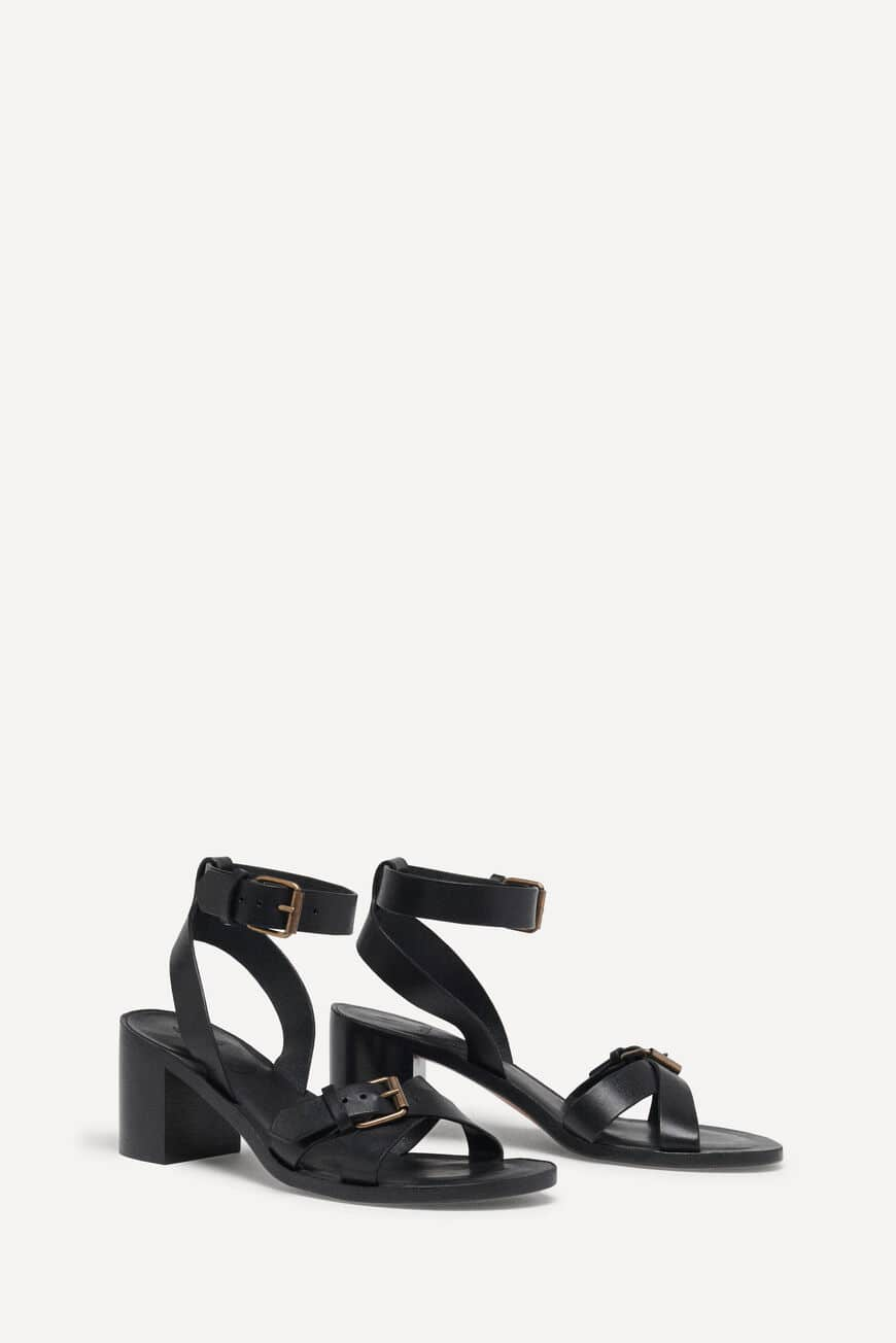 SANDALS CATHALYA SHOES NOIR