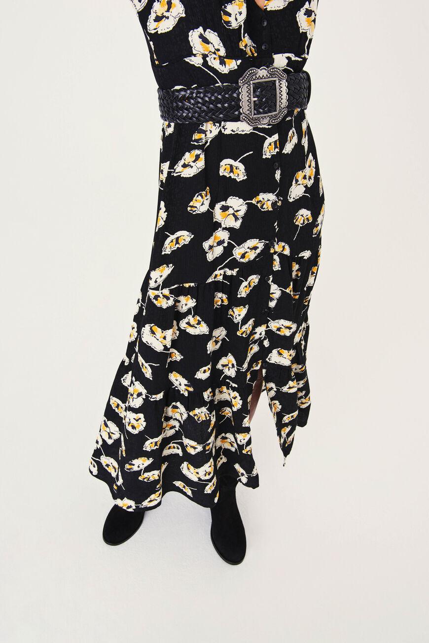 KLEID ULLIA MIDI DRESSES NOIR