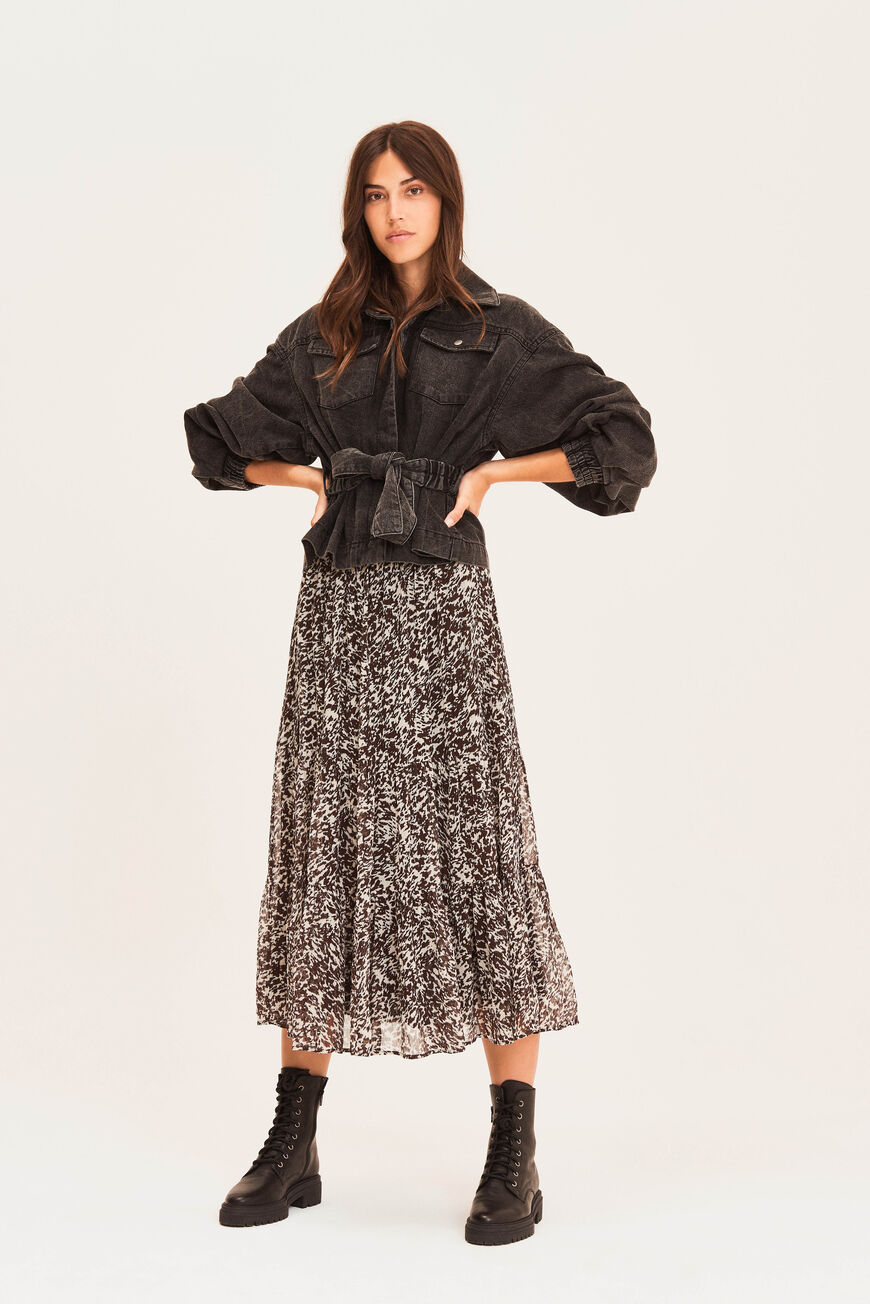 SKIRT ELLIOT Workwear NOIR