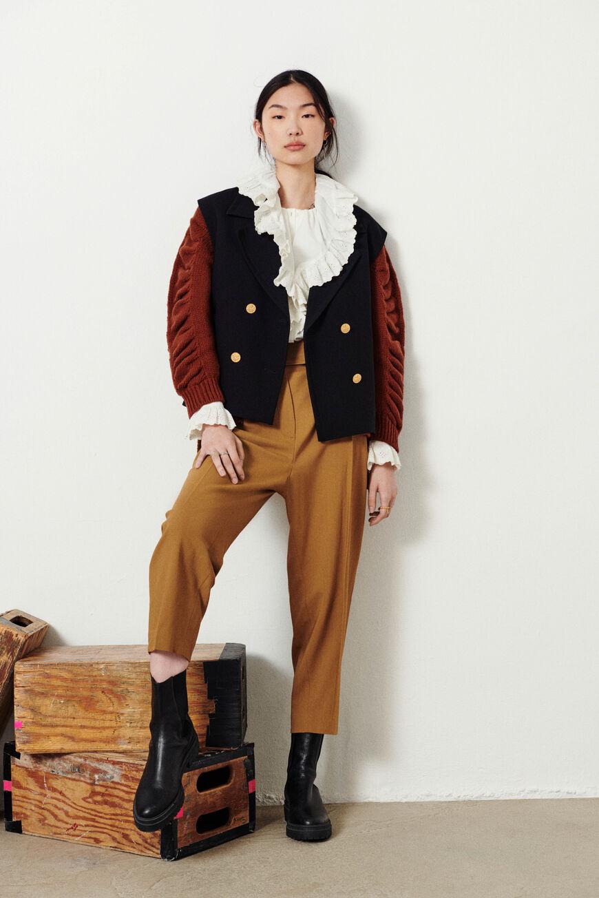 PANTALON BAPHIR pantalones BEIGE BA&SH