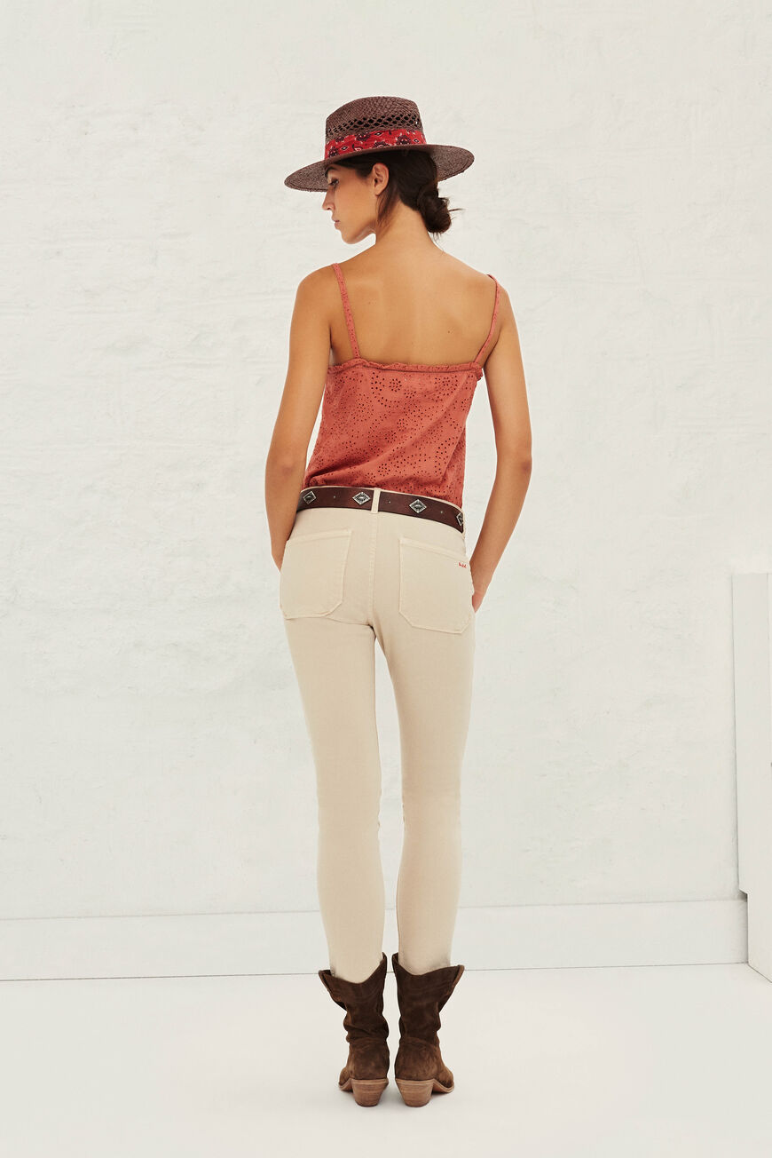 JEANS CSALLY JEANS BEIGE
