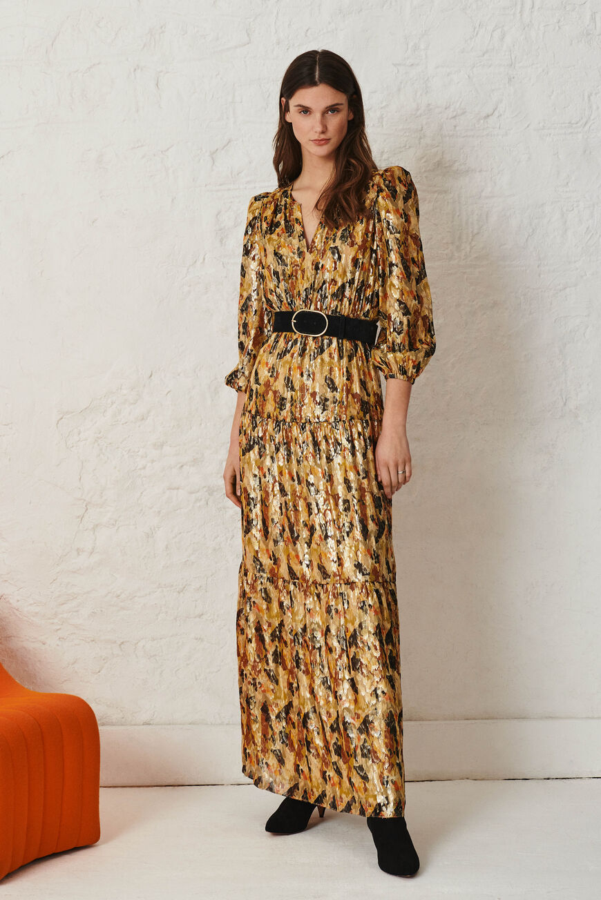 ROBE GULLIAN ROBES LONGUES OCRE