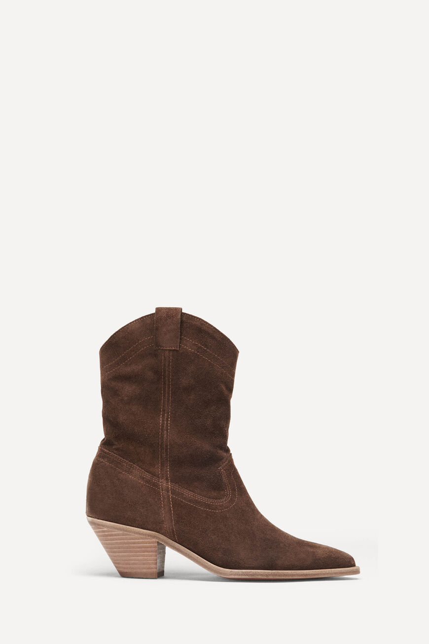 BOOTS CLAUDIA SHOES MARRON
