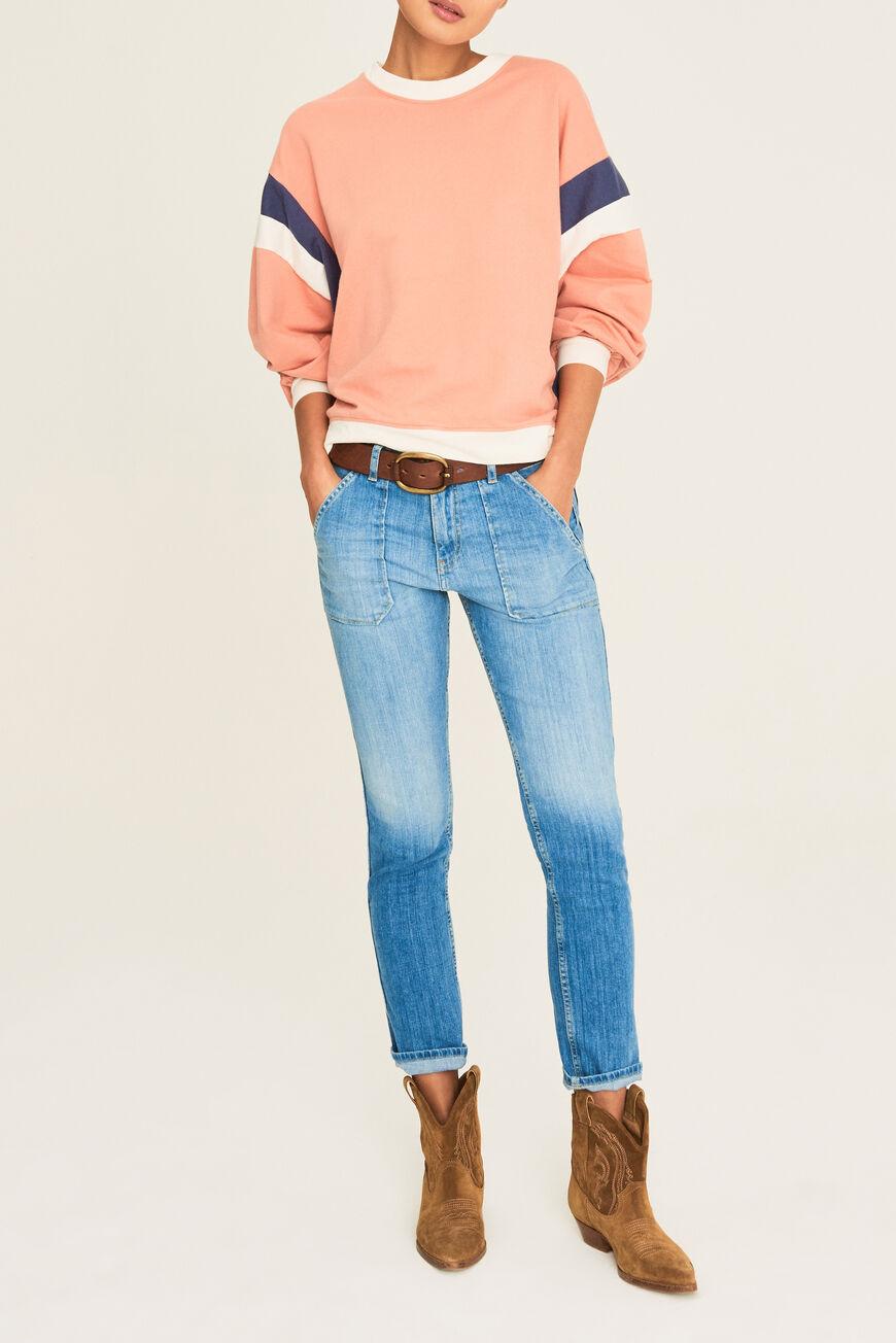 SWEAT MAURRY T-SHIRTS ROSE
