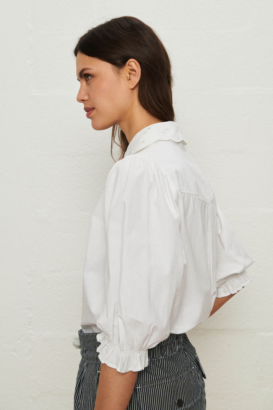 SHIRT YSEULT TOPS & SHIRTS BLANC