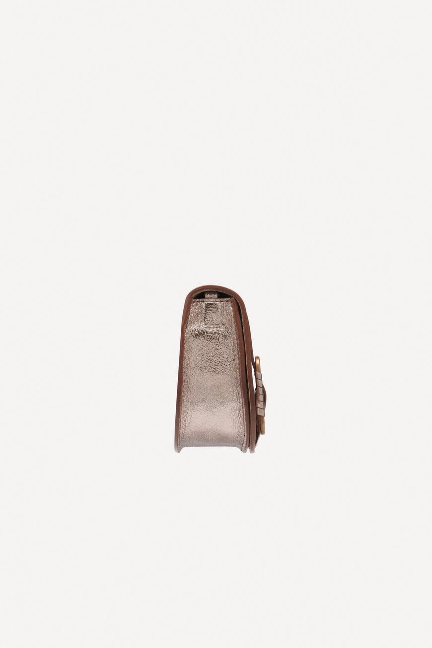 BAG BAGUETTE TEDDY BAGS METALIC BA&SH