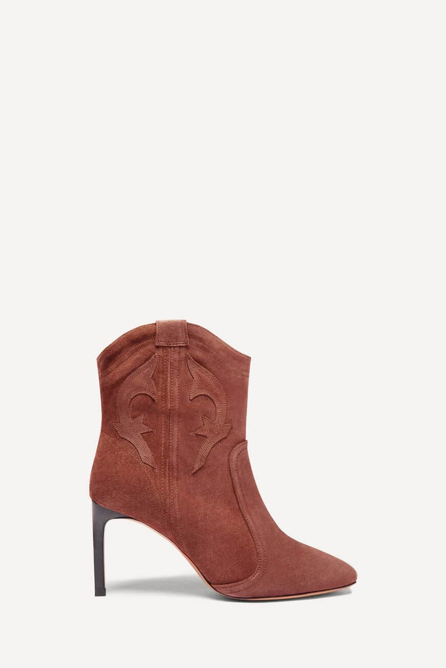 BOTTINES CAITLIN -50% BRANDY