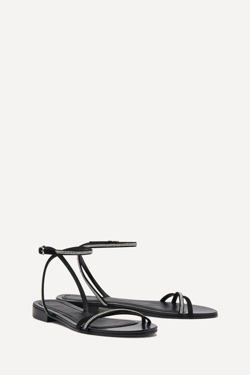 SANDALEN CIBIL PUMPS AND SANDALS NOIR