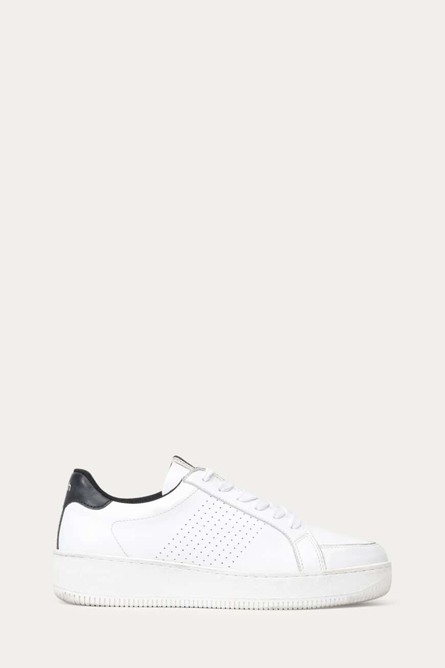 CUBA SNEAKERS LEATHER BLANC