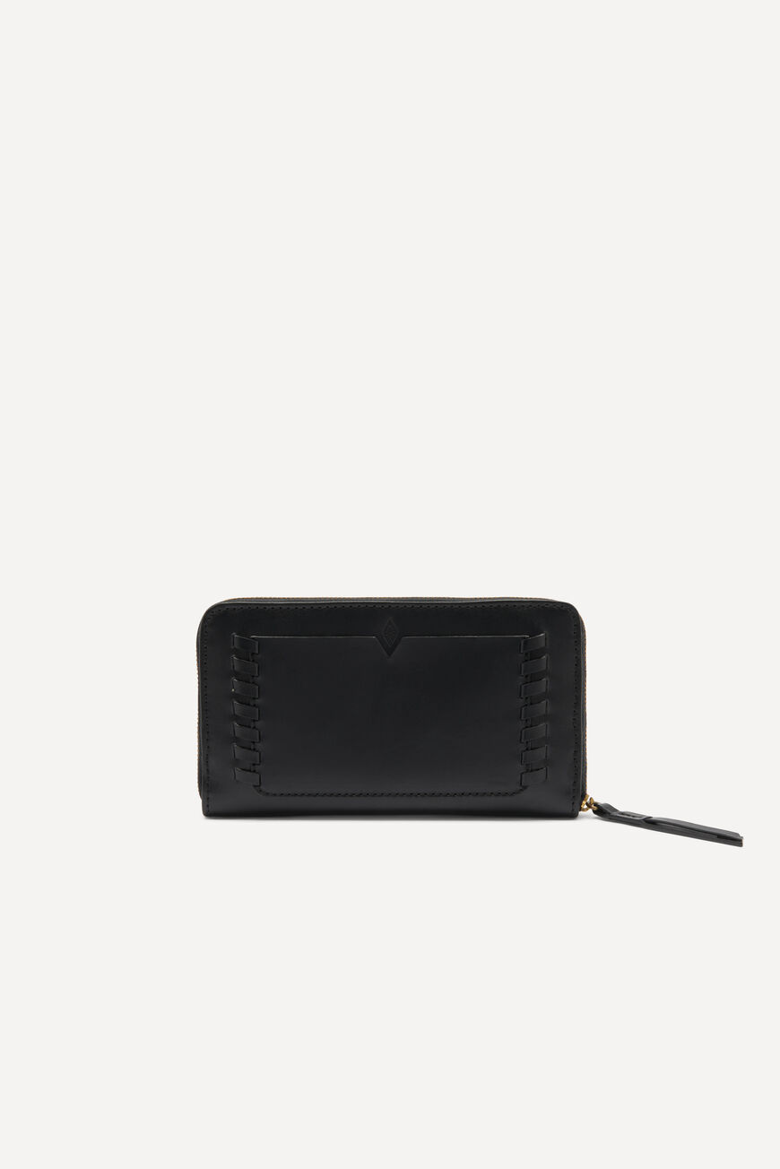 LEATHER ZIP AROUND SMALL LEATHER GOODS