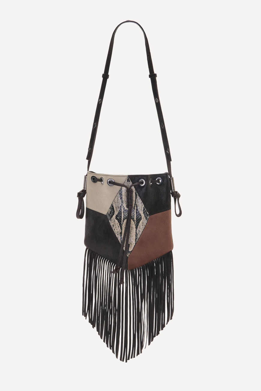 POUCH-BAG SPARROW CROSSBODY BAGS CHOCO