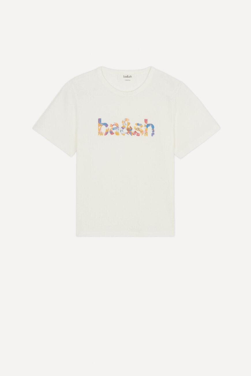 TSHIRT NEO T-SHIRTS ECRU BA&SH
