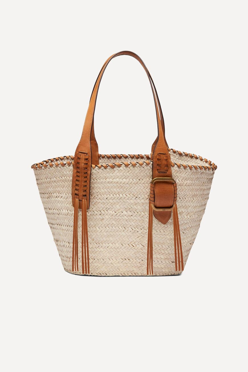 BEACH SHOPPING BAG Main SABLE