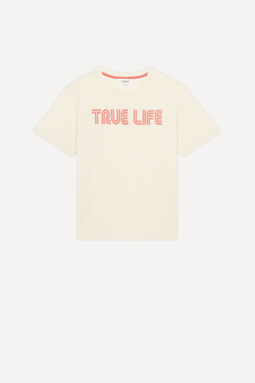 TEE TELLY T-SHIRTS ECRU