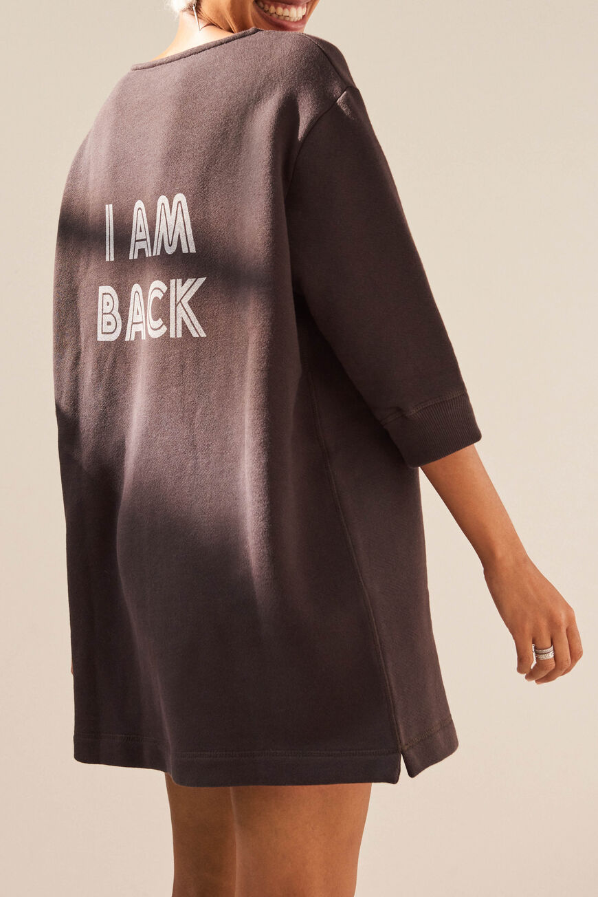 DRESS TELIA MINI DRESSES REGLISSE BA&SH