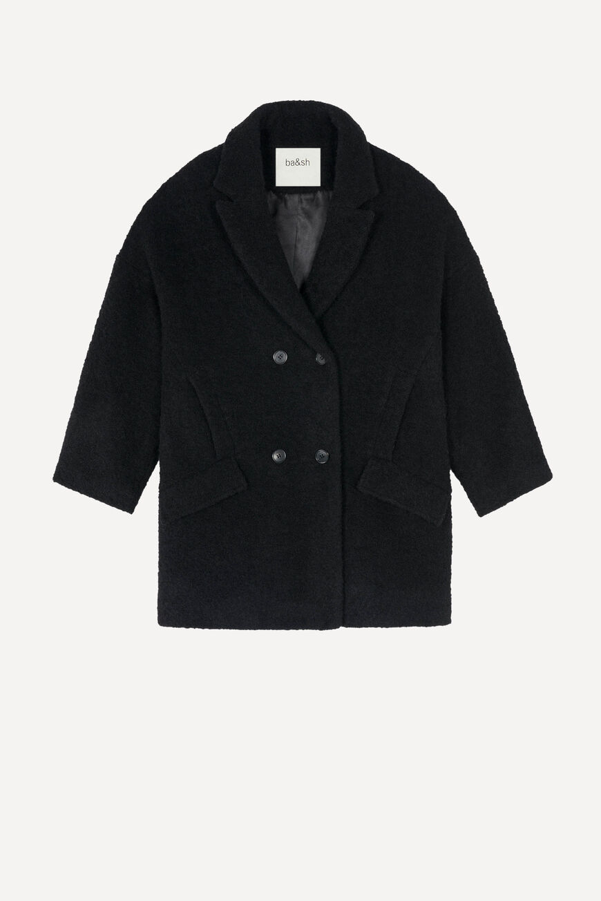 MANTEAU SABI Sale: Extra 15% off NOIR