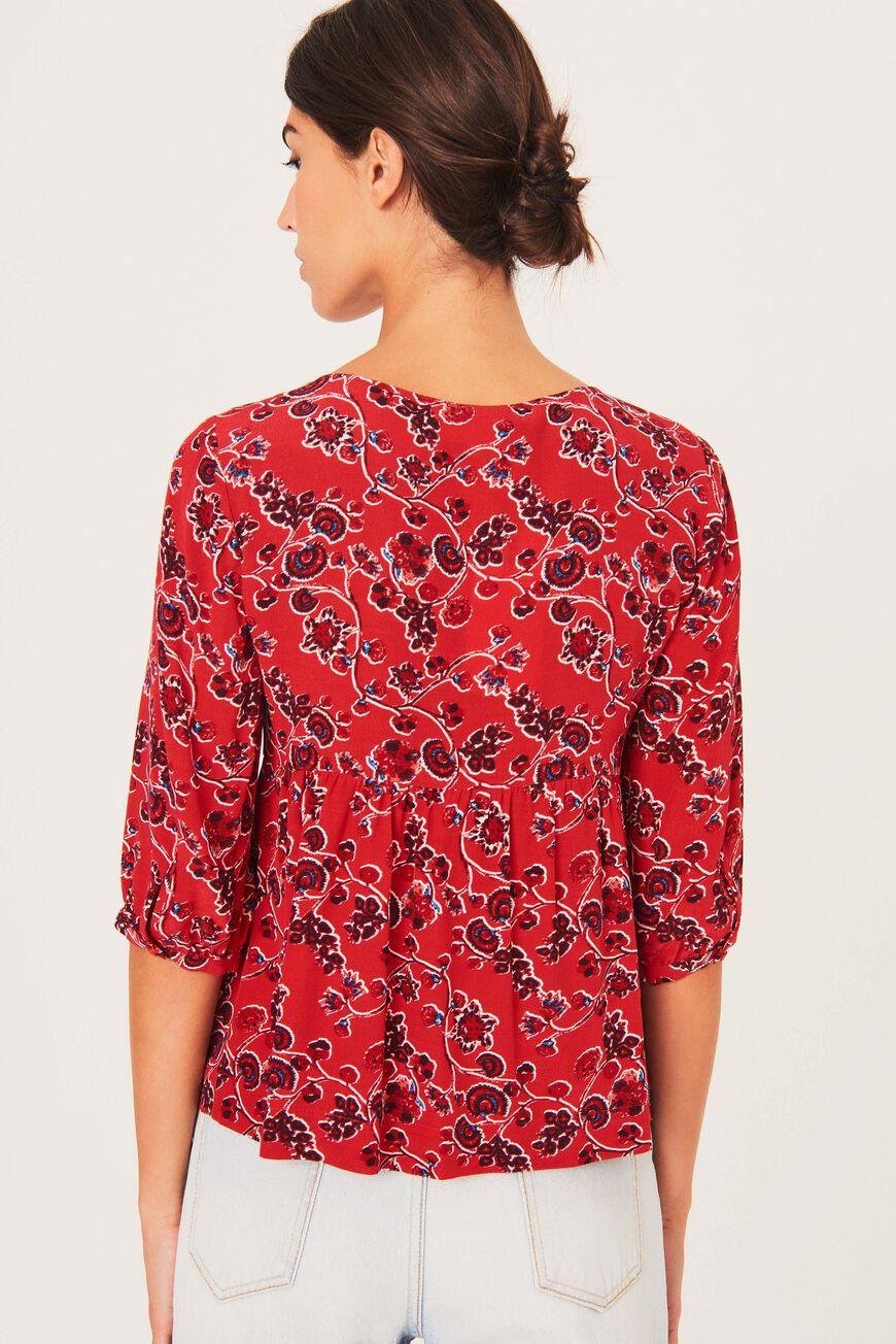 TOP JOY tops & chemises ROUGE