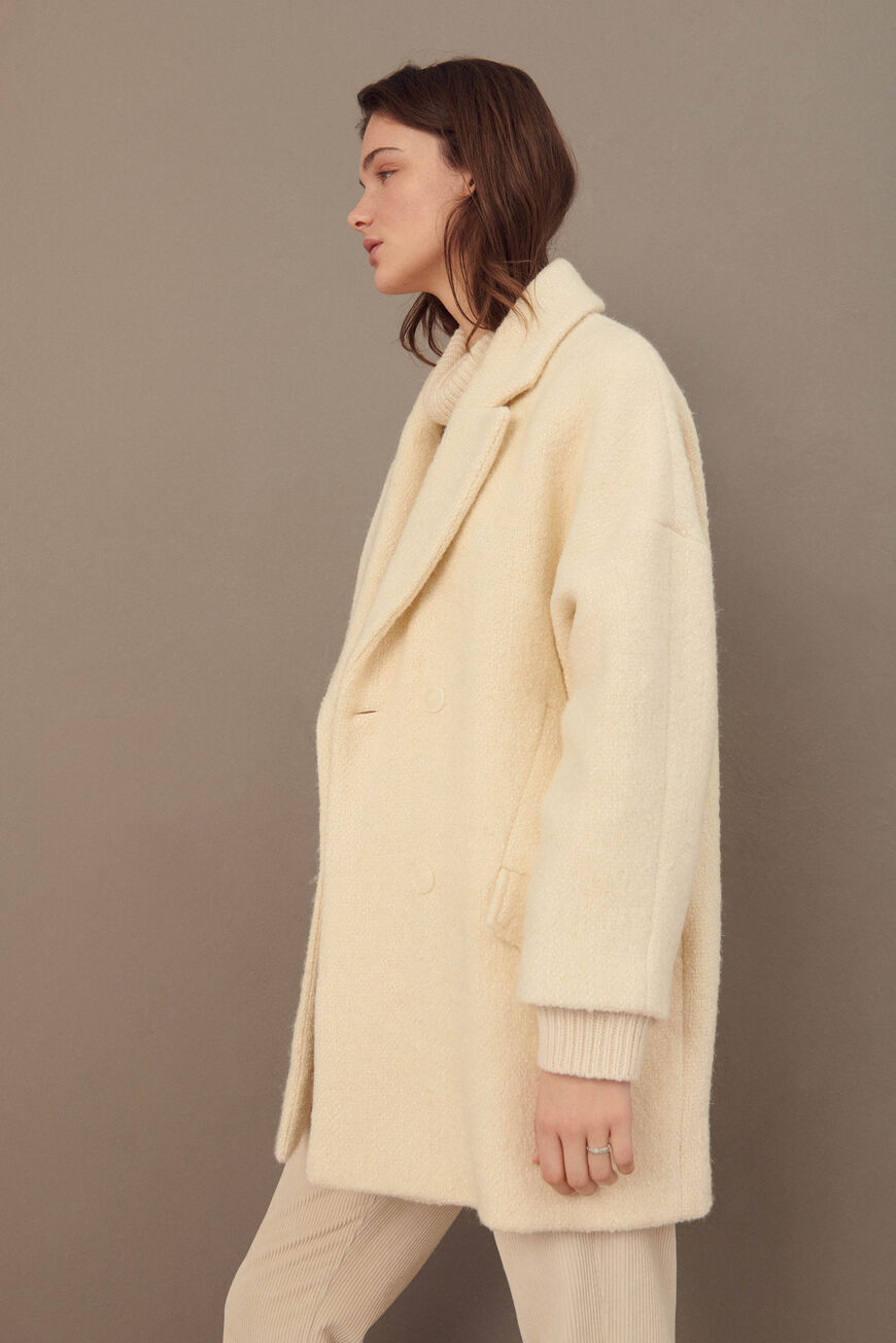 MANTEAU CHARLY MANTEAUX ECRU