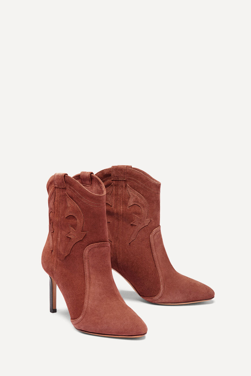 BOTTINES CAITLIN New Collection BRANDY