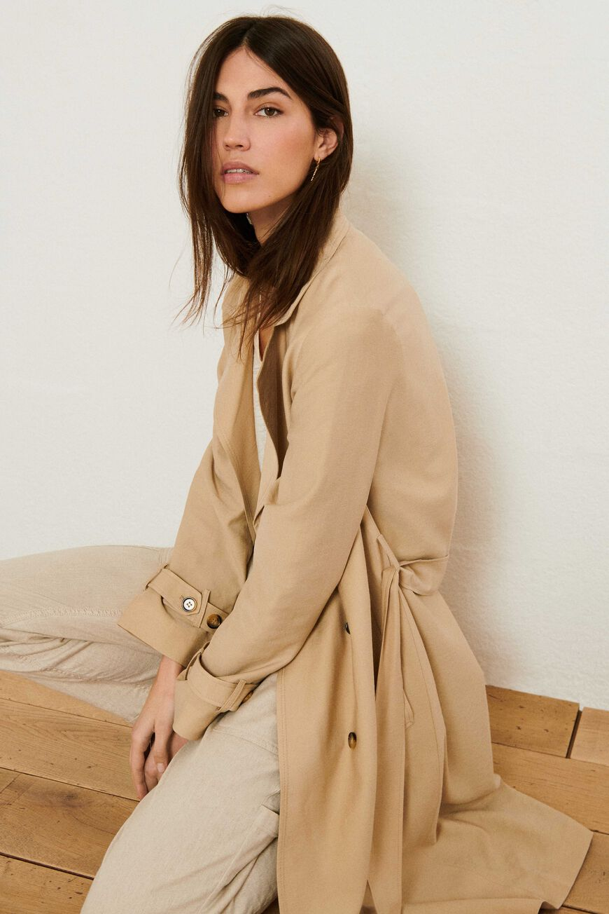 TRENCHCOAT CRICKO COATS BEIGE