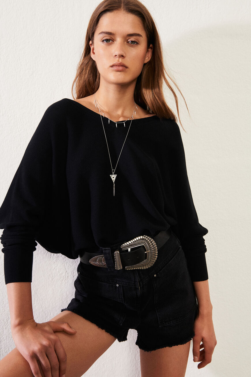 ELSY PULLOVER New Collection NOIR
