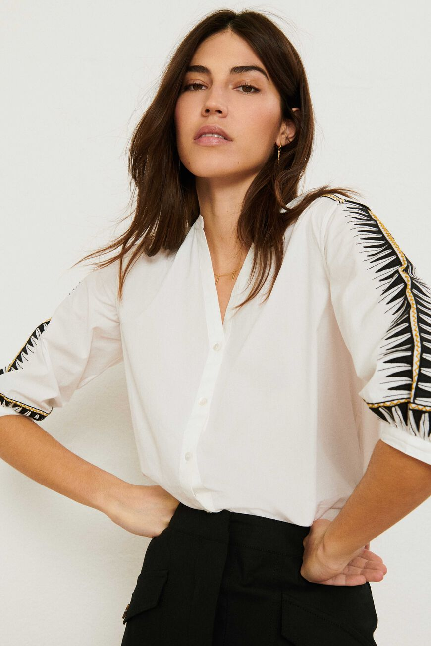 SHIRT DIVINE Workwear BLANC