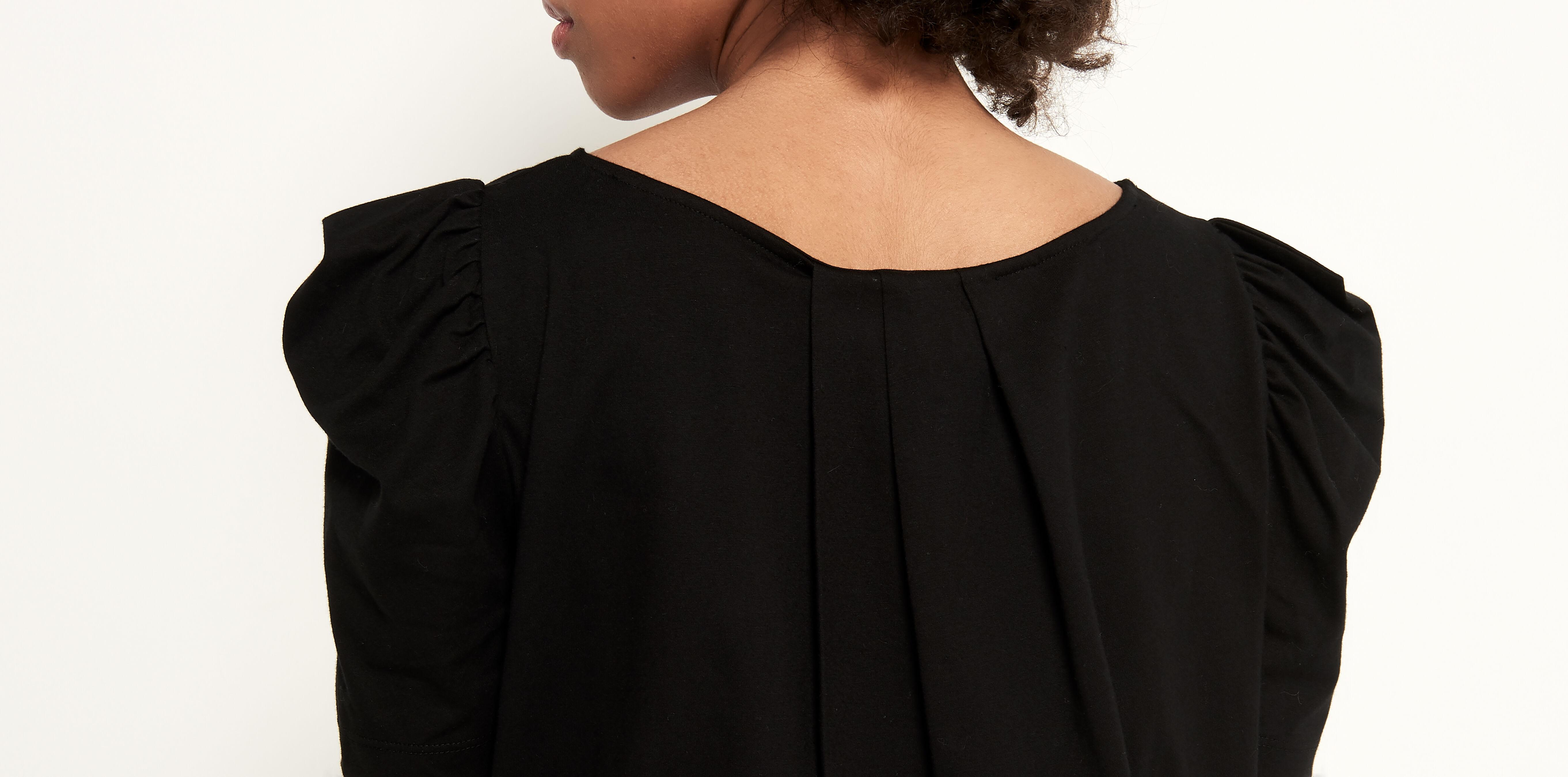 Hombre Negro Camiseta Silueta Nube Silueta Camiseta Nube pLqVSzjUMG
