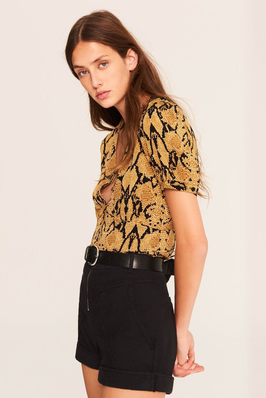 TOP CLEO TOPS & SHIRTS