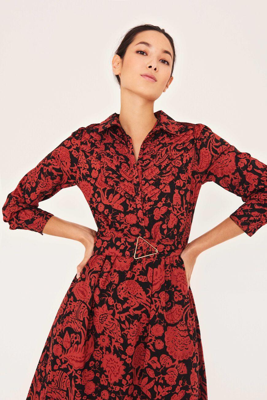 DRESS CERISE MAXI DRESSES