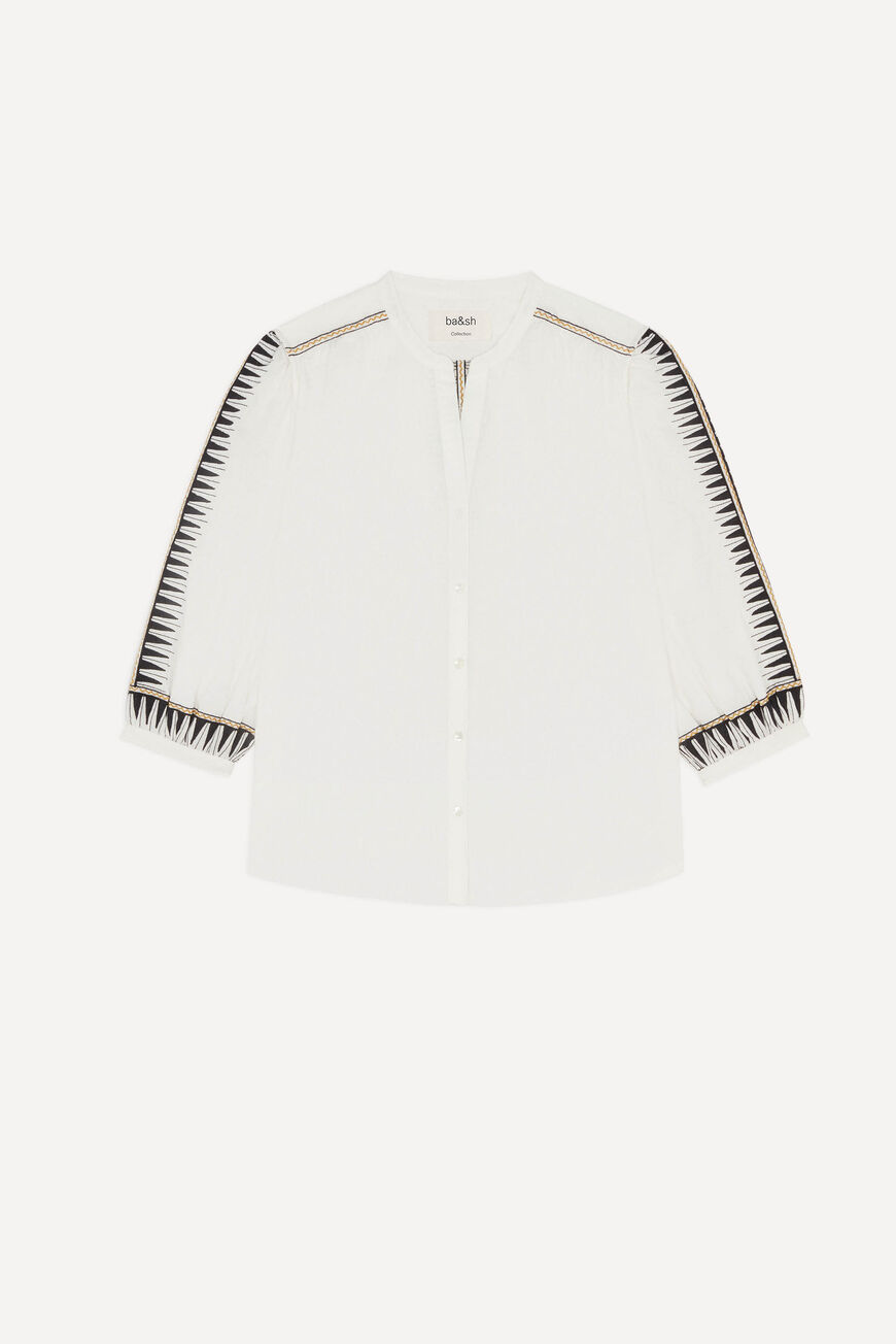 CHEMISE DIVINE tops et chemises BLANC