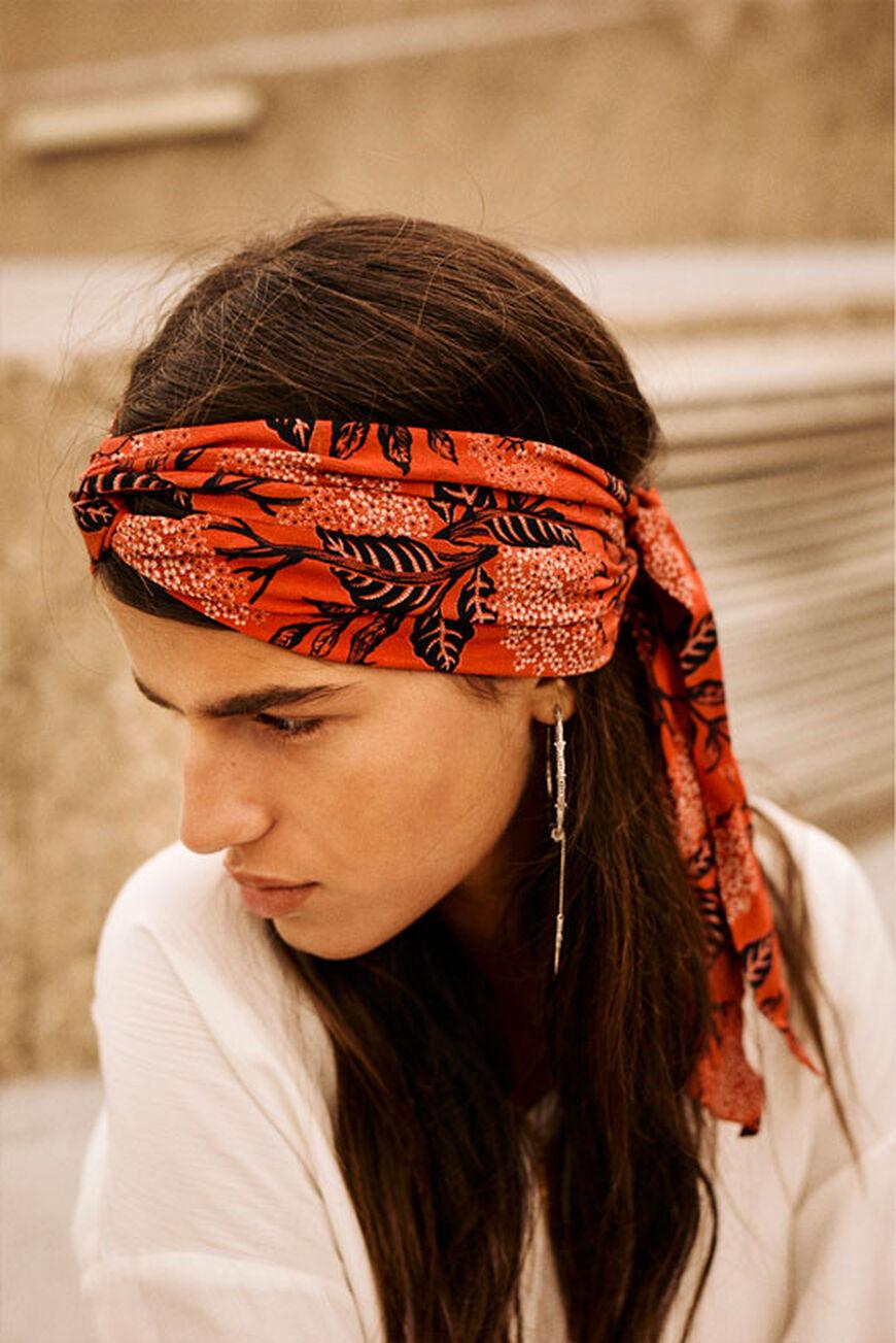 TURBAN POMA hair accessories ORANGE