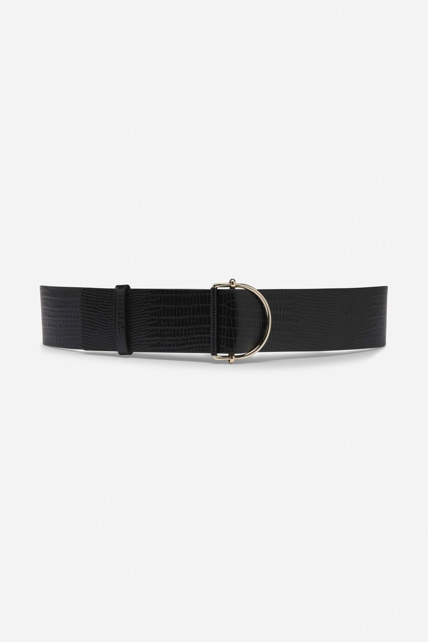 BELT BYZANCE LEATHER NOIR