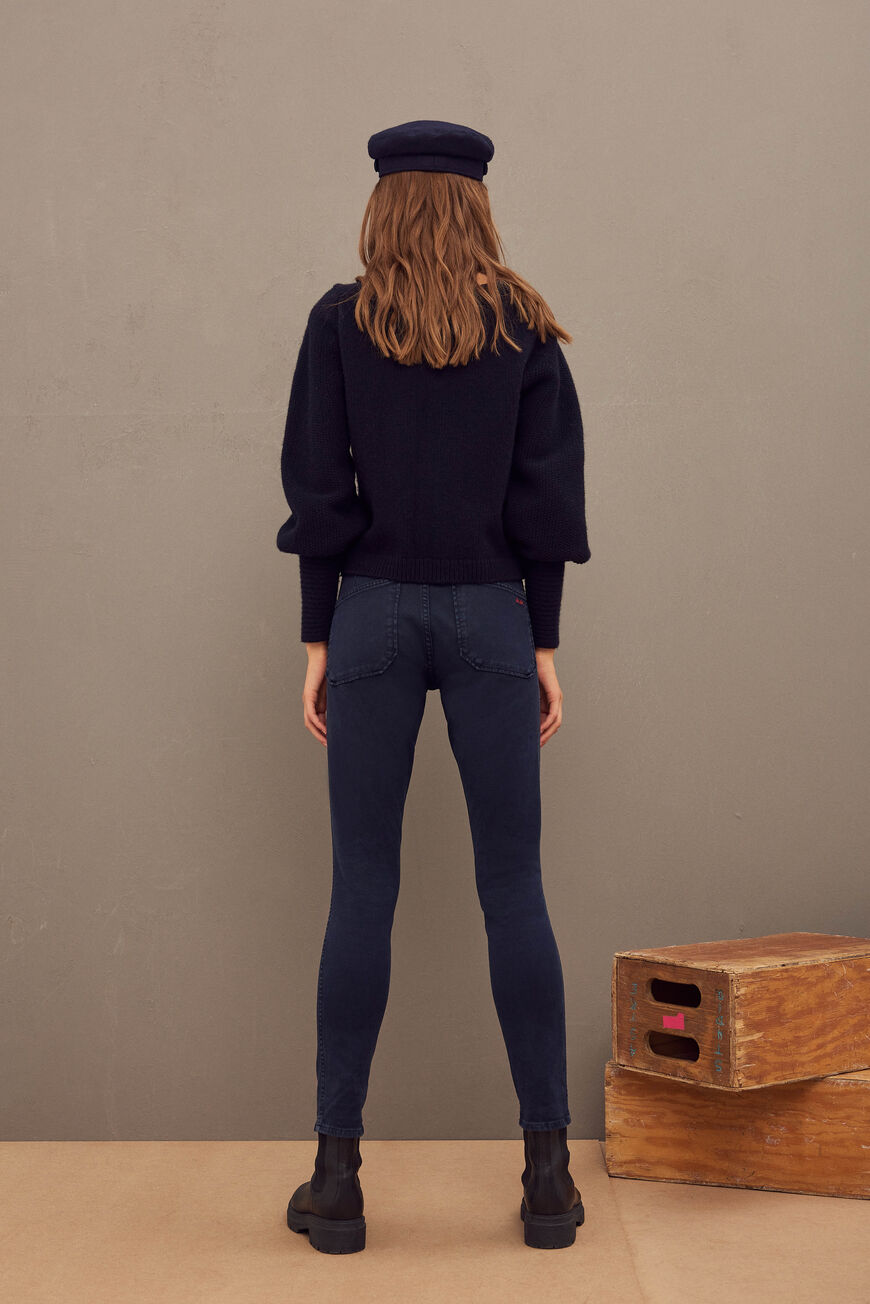 CSALLY JEAN TROUSERS ENCRE