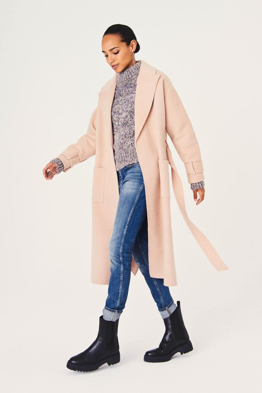 BONNY COAT winter essentials BEIGE