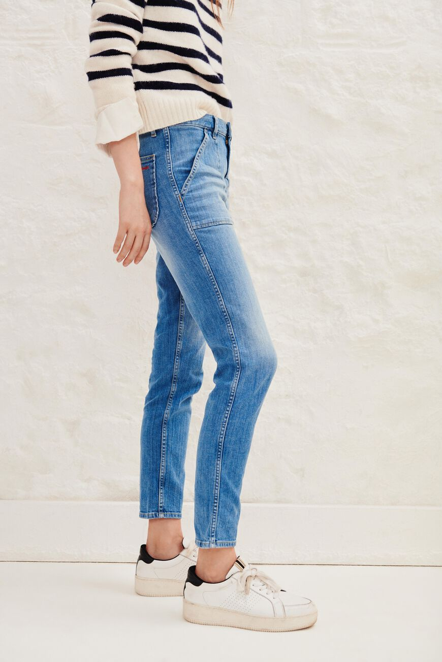 JEAN SALLY PANTALONS & JEANS LIGHTUSEDBLUE
