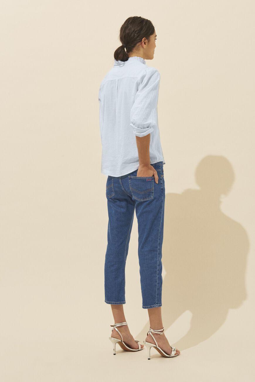 7d093f516bf03 Pantalon, jean ba&sh • Jeans femme, pantalon chino