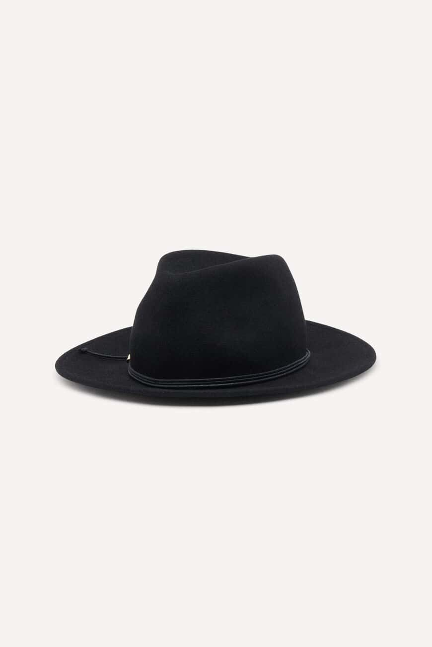 HUT HARRIS HATS & CAPS NOIR