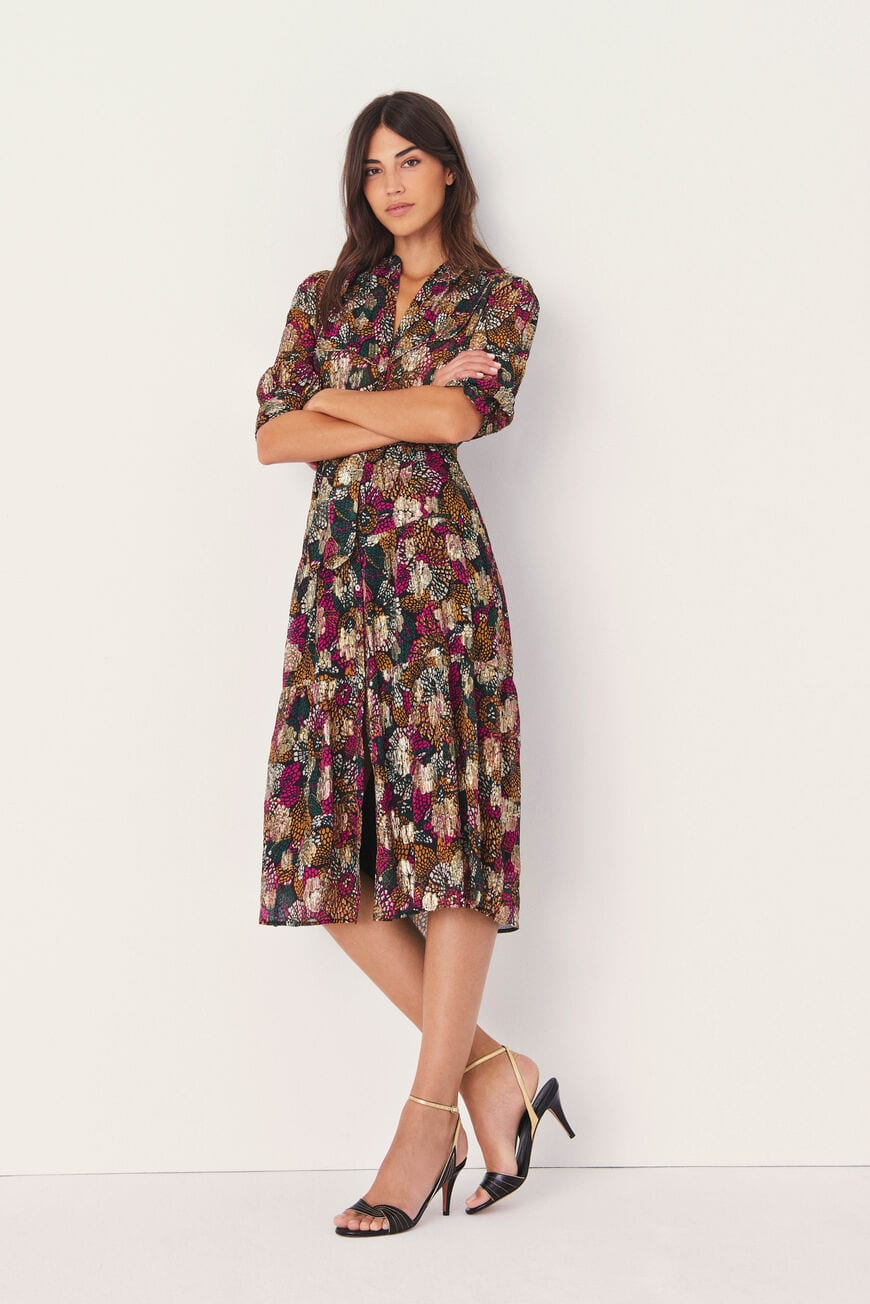 JURK LOVE MIDI DRESSES EMERAUDE