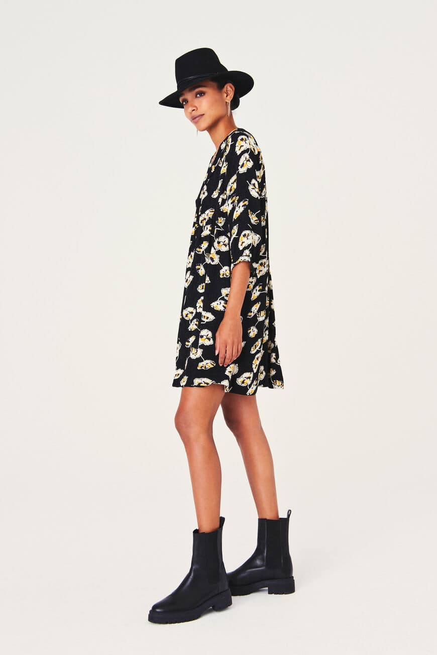 UTA DRESS -40% off NOIR