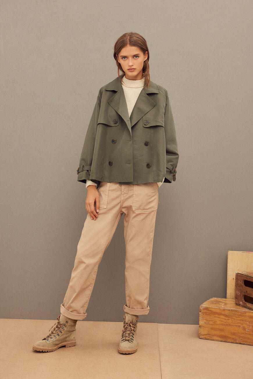 TRENCH TEA COATS
