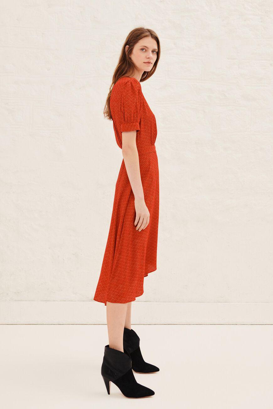 DRESS VALY MINI DRESSES ROUGE