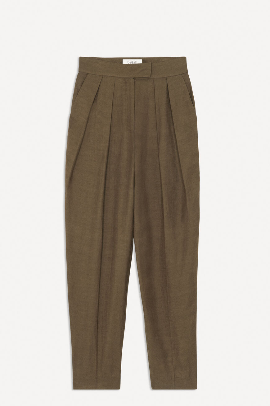 PANTS PAOLO TROUSERS TAUPE BA&SH