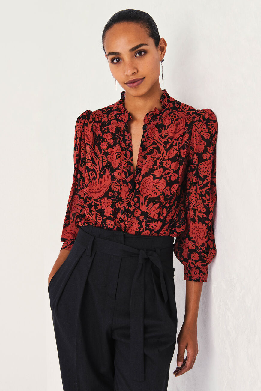 ABI SHIRT -40% off BRIQUE