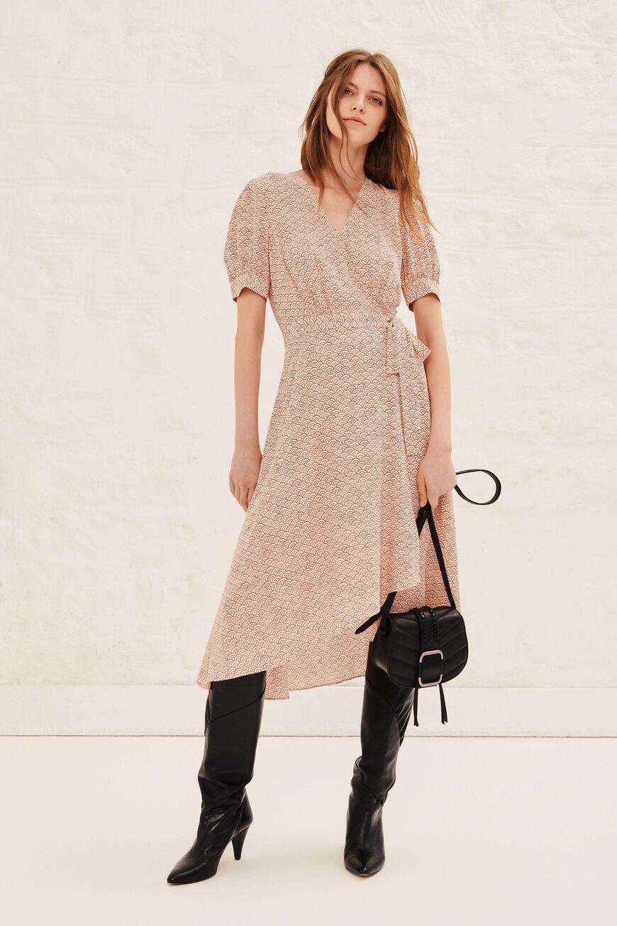 DRESS VALY MINI DRESSES ECRU BA&SH