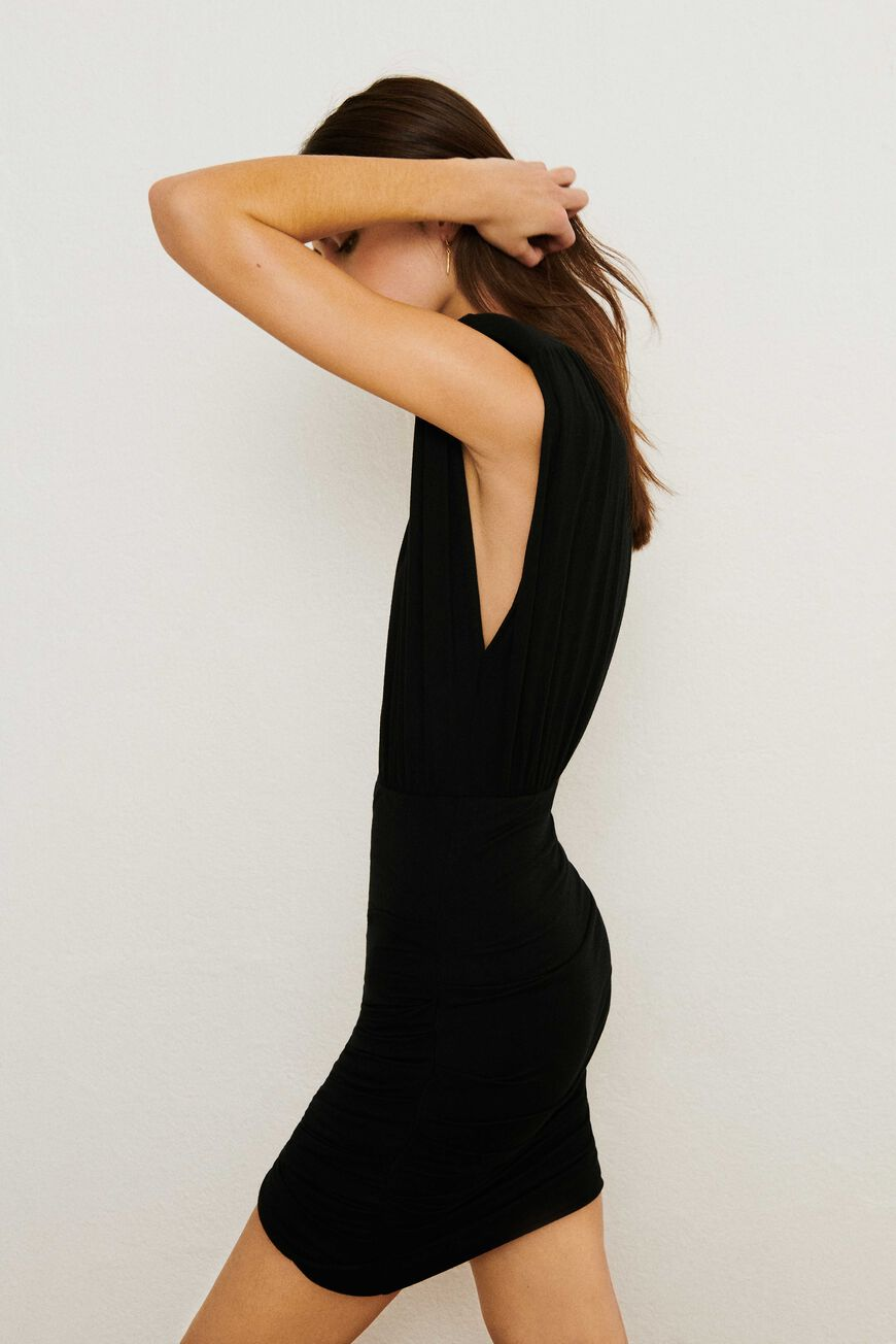 CEDIANE DRESS MINI DRESSES NOIR