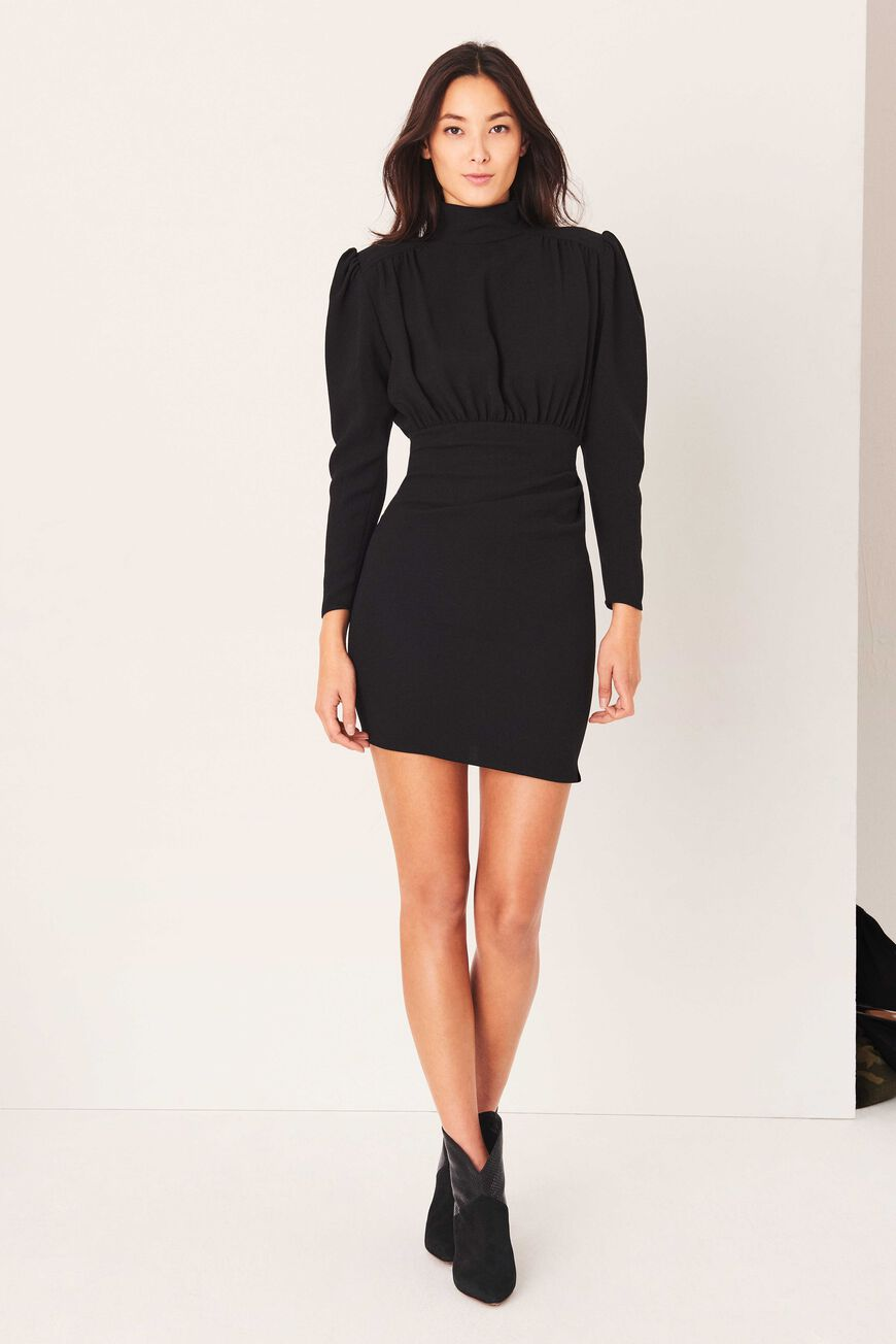 KINA DRESS MINI DRESSES NOIR