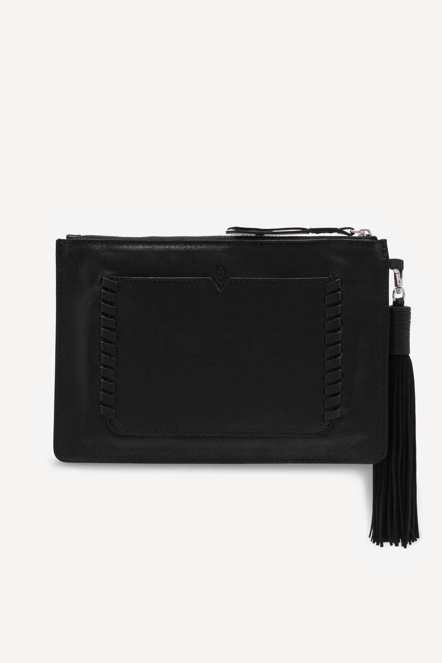 TEDDY M WESTERN POUCH LEATHER